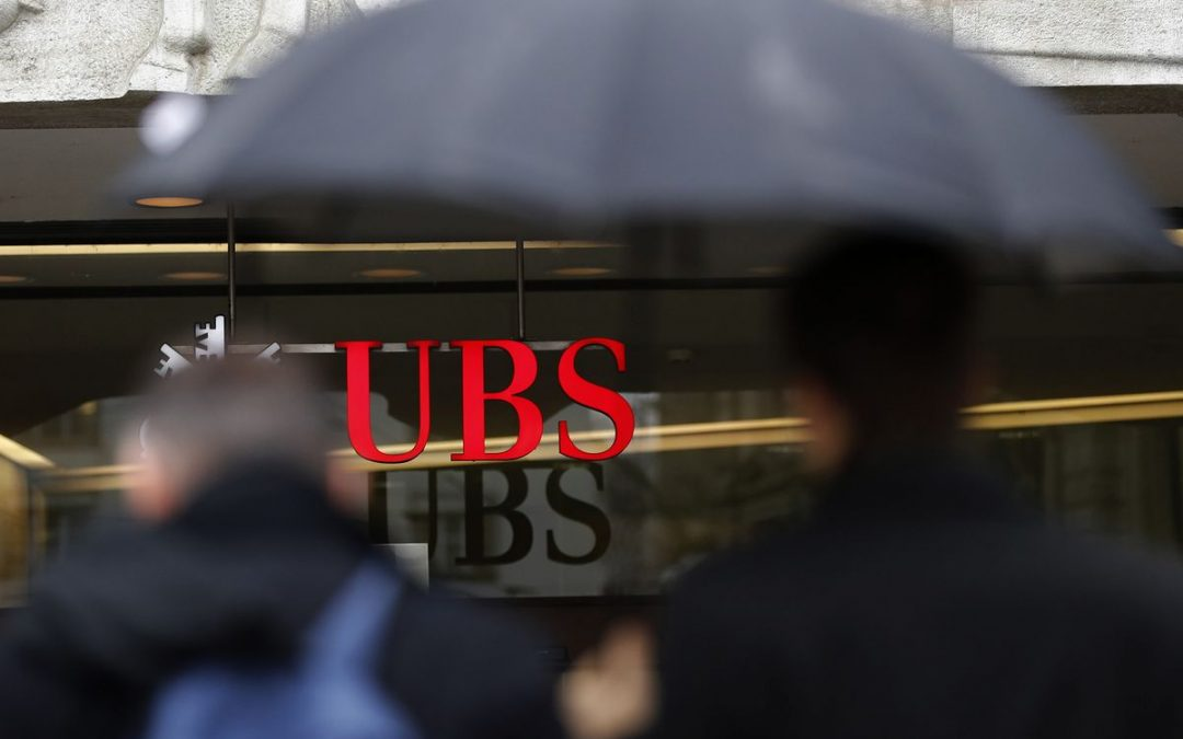 UBS Fined $37 Million by U.K. for Decade of Reporting Errors
