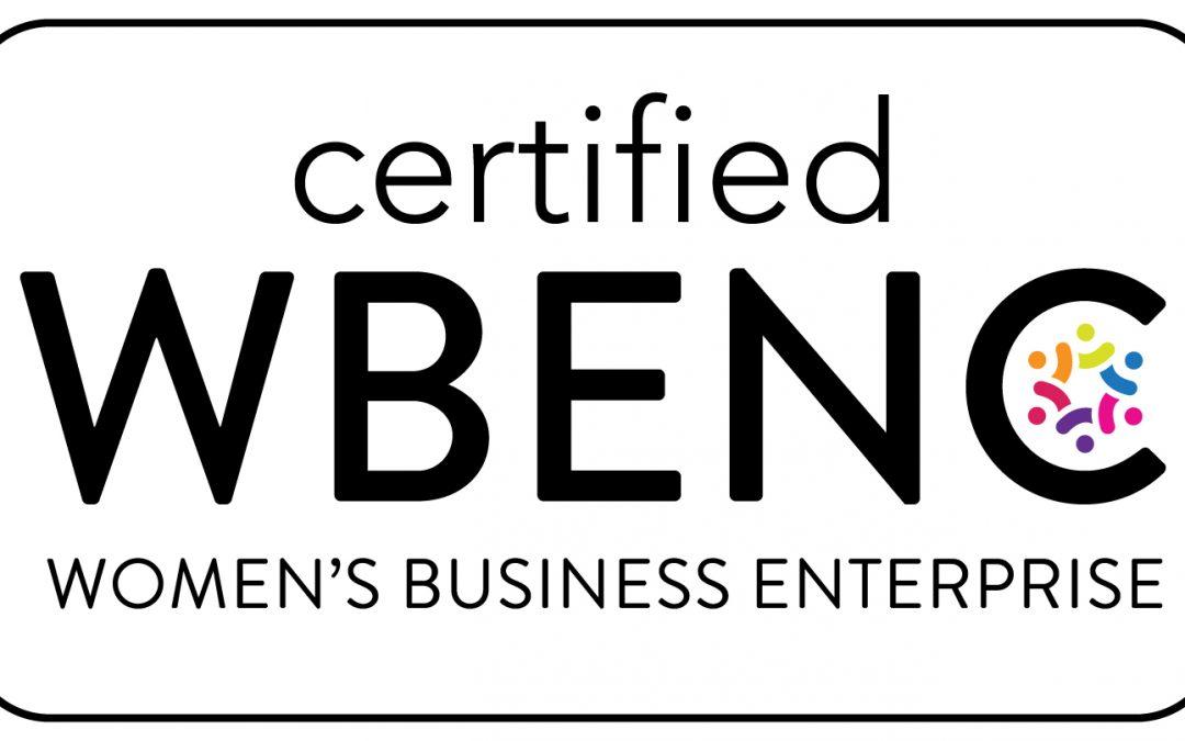 Doran Jones Inc. is proud to announce, we are now a WBENC-Certified Women's Business Enterprise